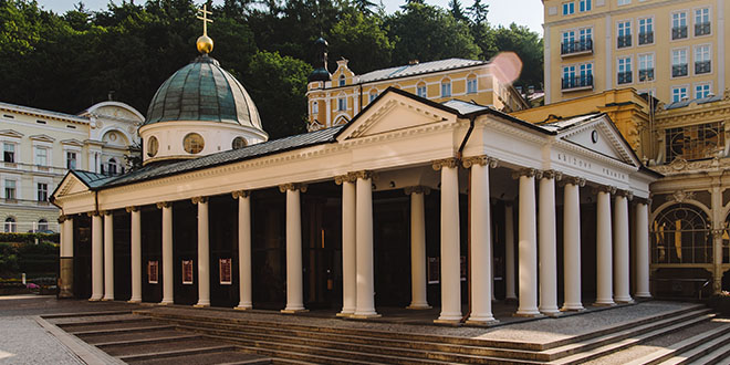 Pavilón Křížového pramene - UNESCO